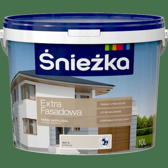 ŚNIEŻKA Extra Fasadowa grafitowy C 10 L
