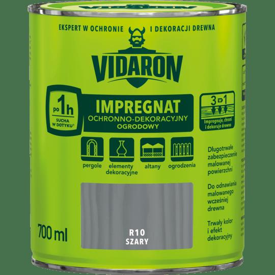 VIDARON Садовая пропитка серый 0,7 Л