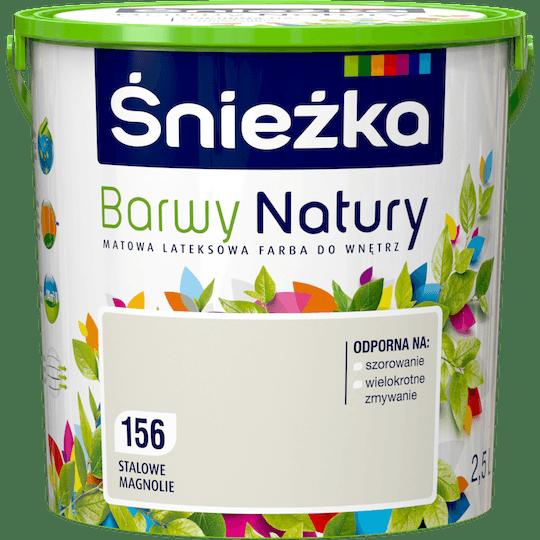 ŚNIEŻKA Barwy Natury stalowe magnolie 2,5 L