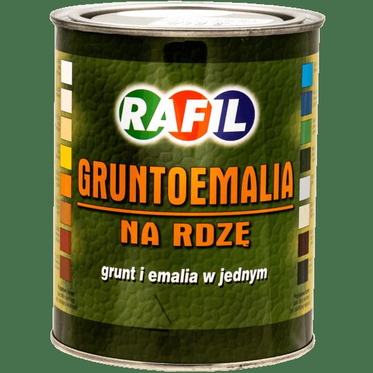 RAFIL Gruntoemalia Na Rdzę RAL6005 0,8 L