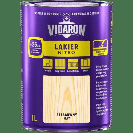 VIDARON Lakier Nitro Mat
