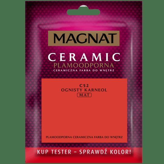 Magnat Ceramic – paint tester fiery carnelian 0,03 L