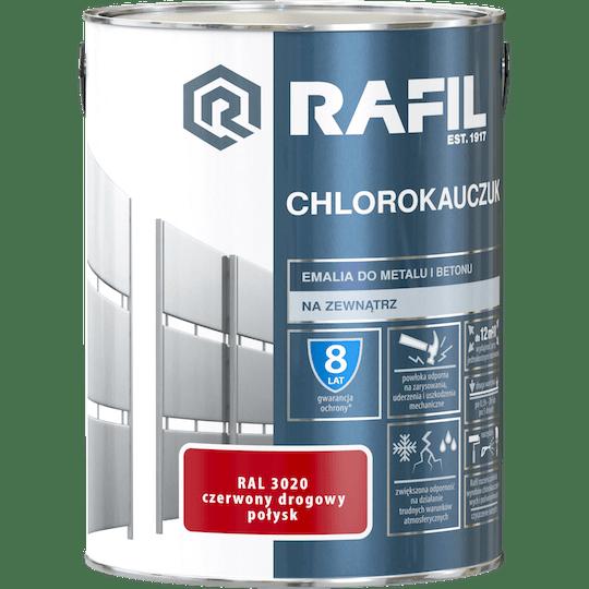 Rafil  Эмаль Хлоркаучуковая RAL3020