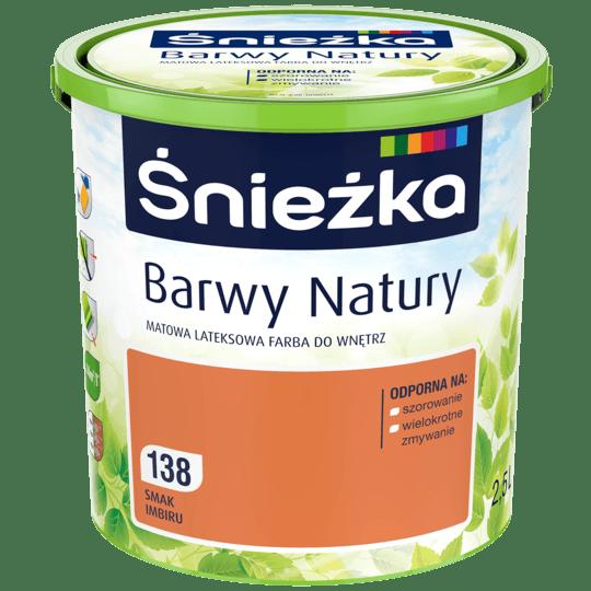 ŚNIEŻKA Barwy Natury smak imbiru 2,5 L