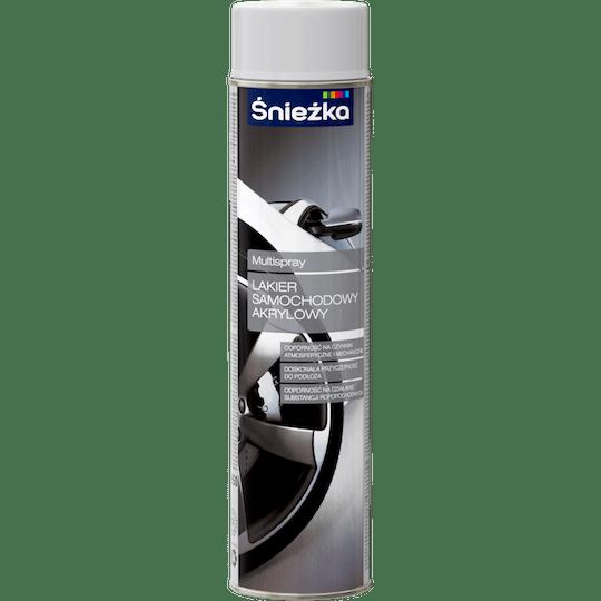 ŚNIEŻKA Multispray Lakier Do Samochodów Akrylowy szary 0,6 L