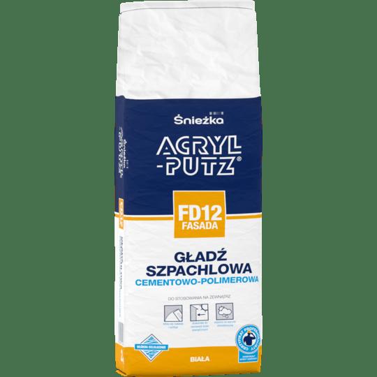 ŚNIEŻKA Acryl-Putz® FD12 Fasada biały 2 kg