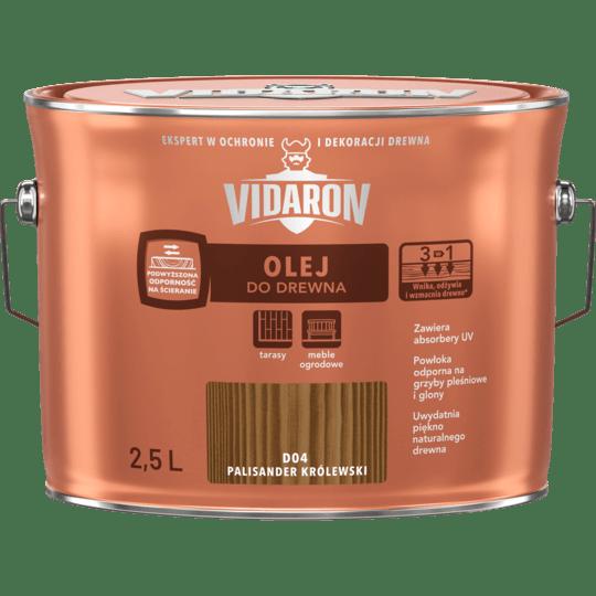 VIDARON Масло для древесины палисандр королевский 2,5 Л