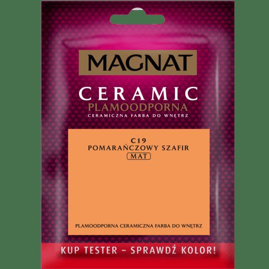 MAGNAT Ceramic - Tester Do Malowania pomarańczowy szafir 0,03 L