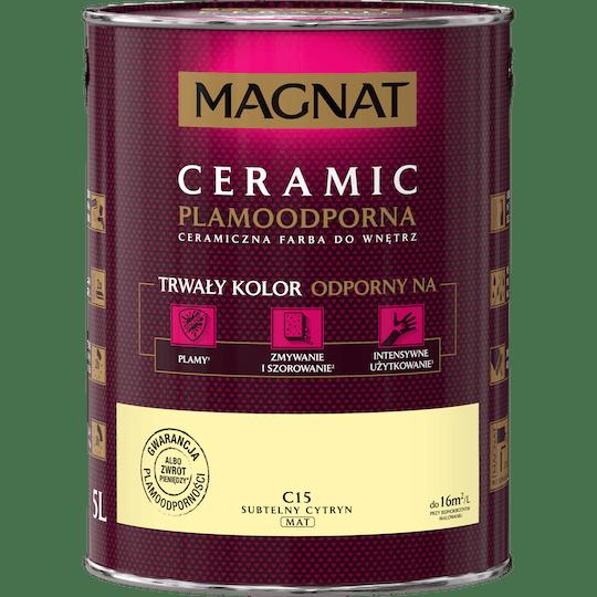 MAGNAT Ceramic subtelny cytryn 5 L