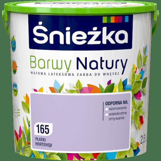 ŚNIEŻKA Barwy Natury płatki hortensji 2,5 L