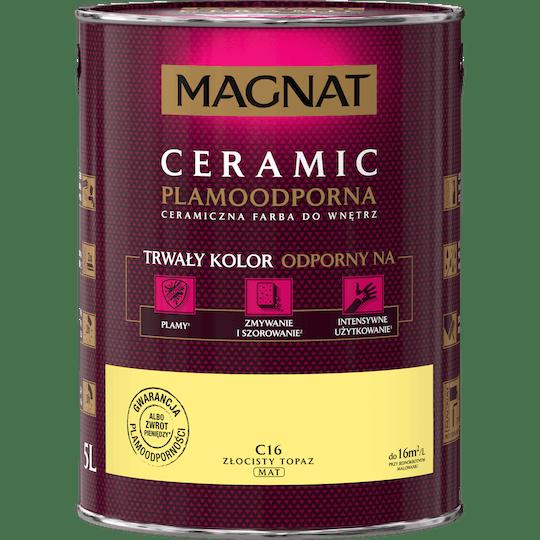 MAGNAT Ceramic złocisty topaz 5 L