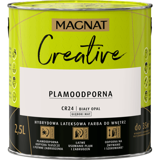 MAGNAT Creative biały opal 2,5 L