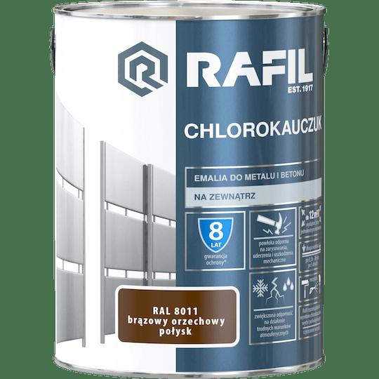 Rafil  Эмаль Хлоркаучуковая RAL8011