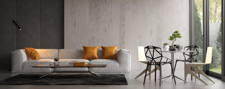 Kult minimalistycznej szarości, bieli i czerni