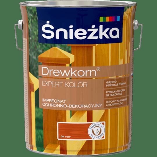 ŚNIEŻKA Drewkorn® Expert Impregnat Ochronno-Dekoracyjny cedr 4,5 L