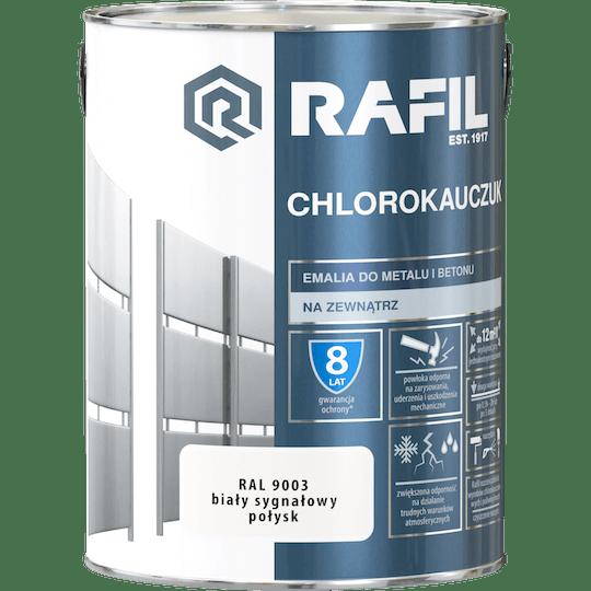 Rafil  Эмаль Хлоркаучуковая RAL9003