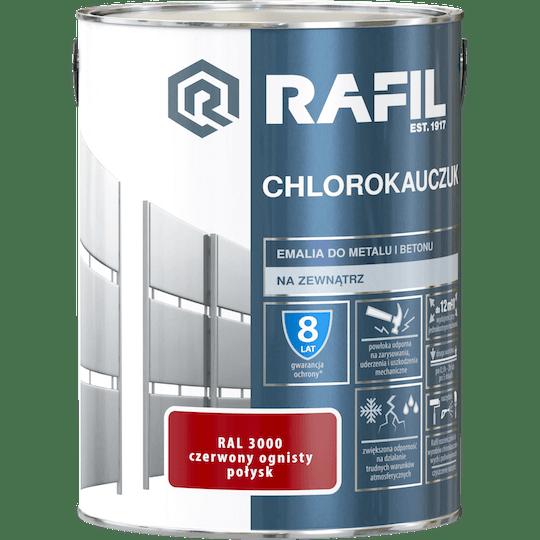 Rafil  Эмаль Хлоркаучуковая RAL3000