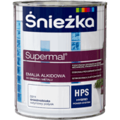 Śnieżka Supermal Alkyd Enamel brilliant white satin gloss