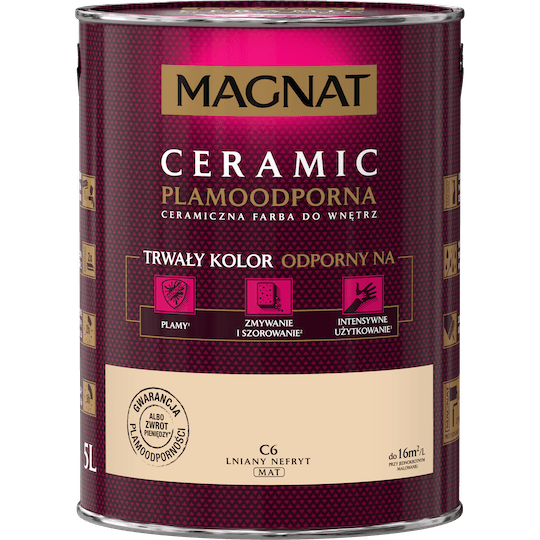 MAGNAT Ceramic lniany nefryt 5 L