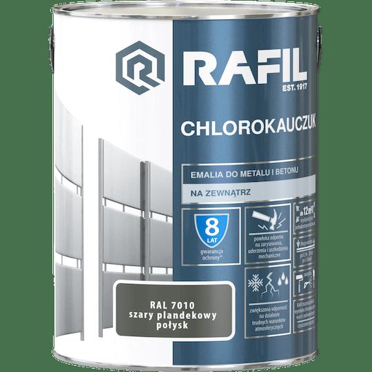 Rafil  Эмаль Хлоркаучуковая RAL7010