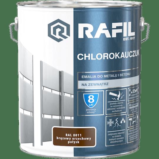 RAFIL Emalia Chlorokauczukowa RAL8011