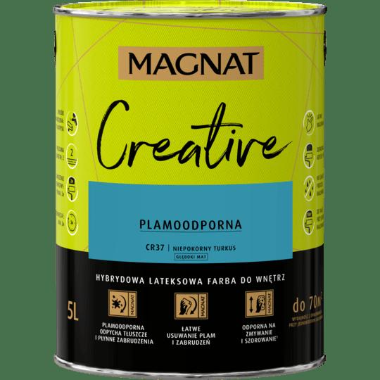 MAGNAT Creative niepokorny turkus 5 L