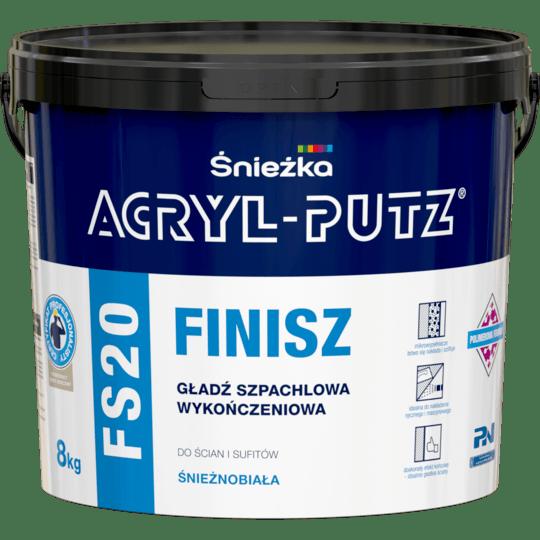 ŚNIEŻKA Acryl-Putz® FS20 Finisz biały 8 kg