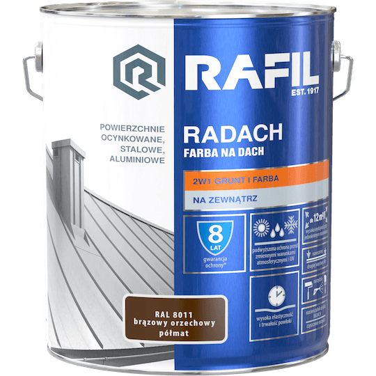 RAFIL Radach Farba Na Dach RAL8011