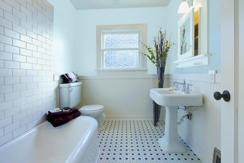 Niebieska łazienka - MAGNAT Creative Kitchen&Bathroom KB3 źródlany chalcedon