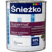Śnieżka Supermal Alkyd Enamel brilliant white gloss