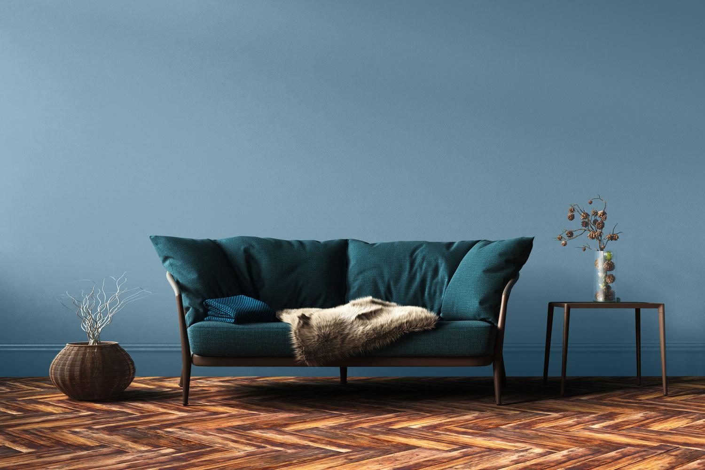 Jak dobrać kolor ścian do podłogi?