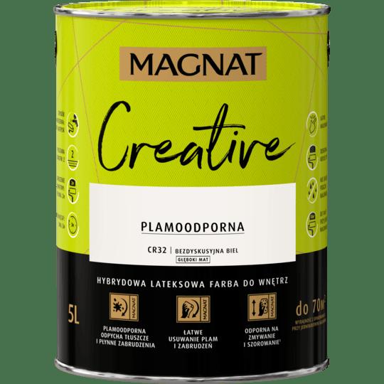 MAGNAT Creative bezdyskusyjna biel 5 L