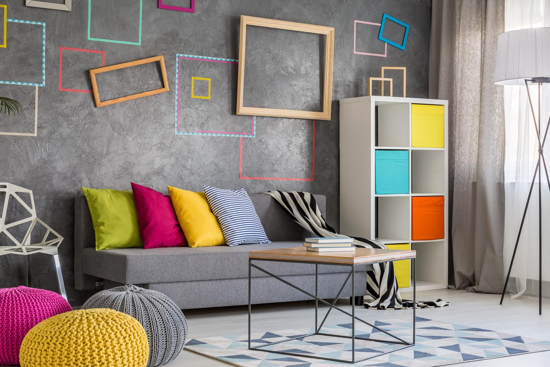 Farby dekoracyjne imitujące beton