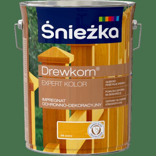 ŚNIEŻKA Drewkorn® Expert Impregnat Ochronno-Dekoracyjny sosna 4,5 L