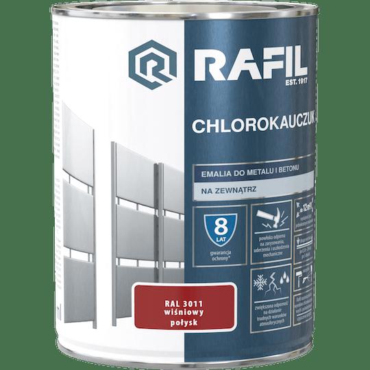Rafil  Эмаль Хлоркаучуковая RAL3011