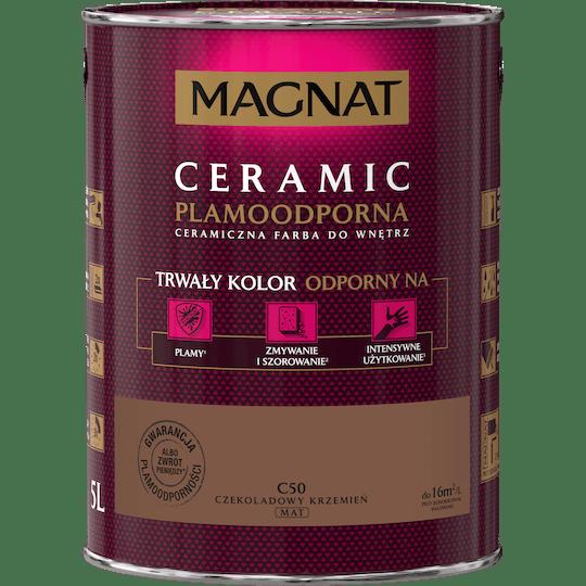 MAGNAT Ceramic czekoladowy krzemień 5 L