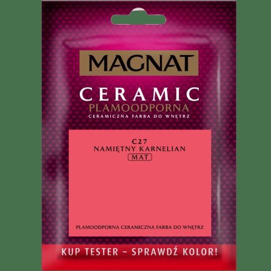 MAGNAT Ceramic - Tester Do Malowania namiętny karnelian 0,03 L