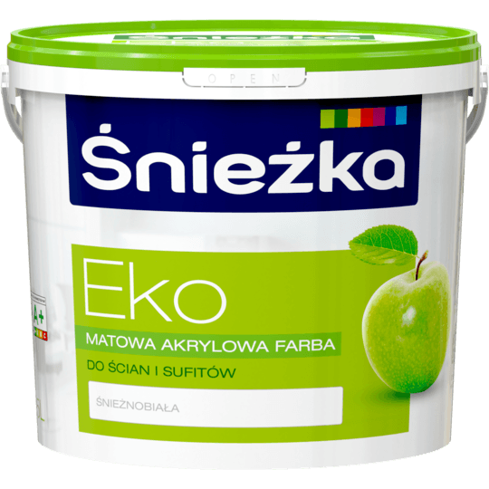 ŚNIEŻKA Eko biały 5 L