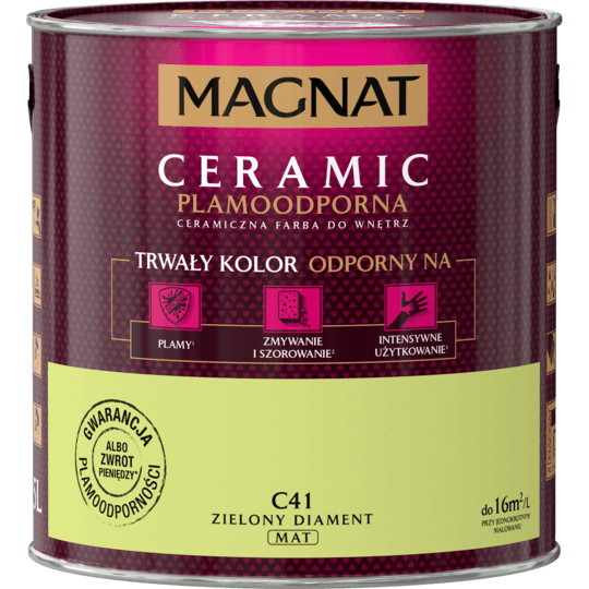 MAGNAT Ceramic zielony diament C41 2,5L