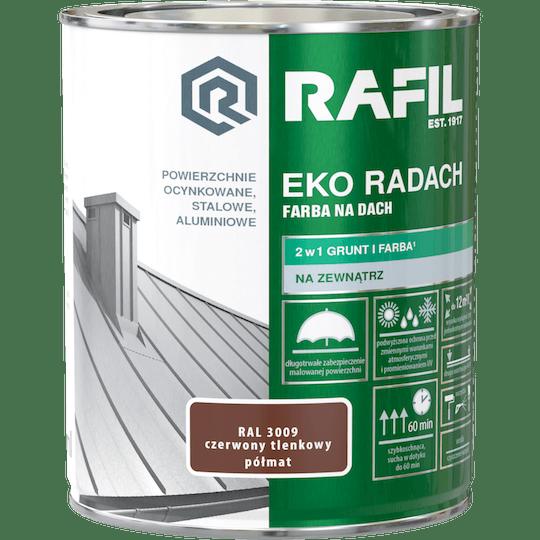 RAFIL Eko-Radach Farba Na Dach RAL3009