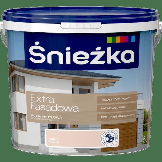 ŚNIEŻKA Extra Fasadowa mahoń C 5 L