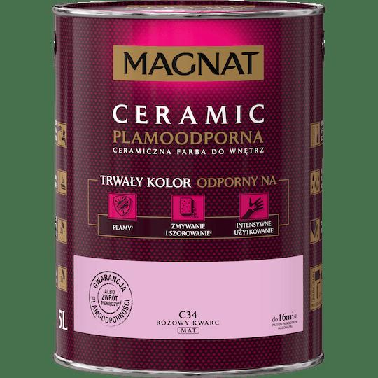 MAGNAT Ceramic różowy kwarc 5 L