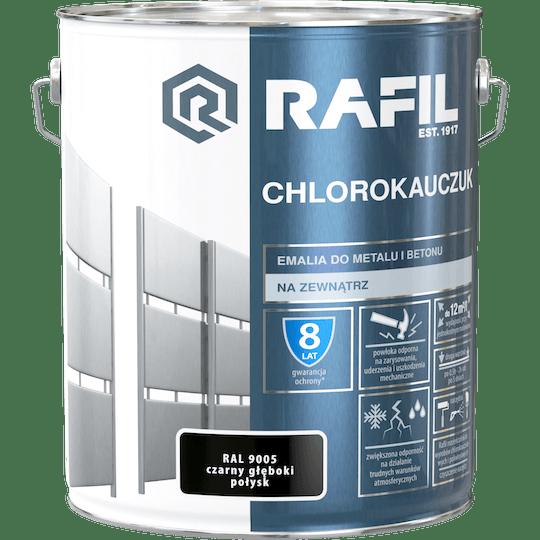 Rafil  Эмаль Хлоркаучуковая RAL9005