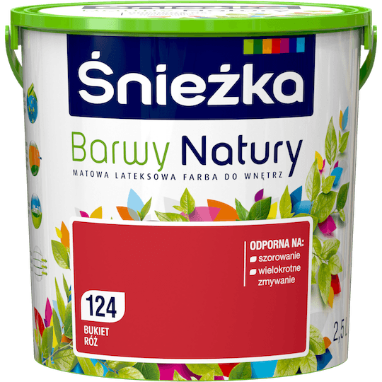 Śnieżka Colours of Nature букет роз 2,5 л