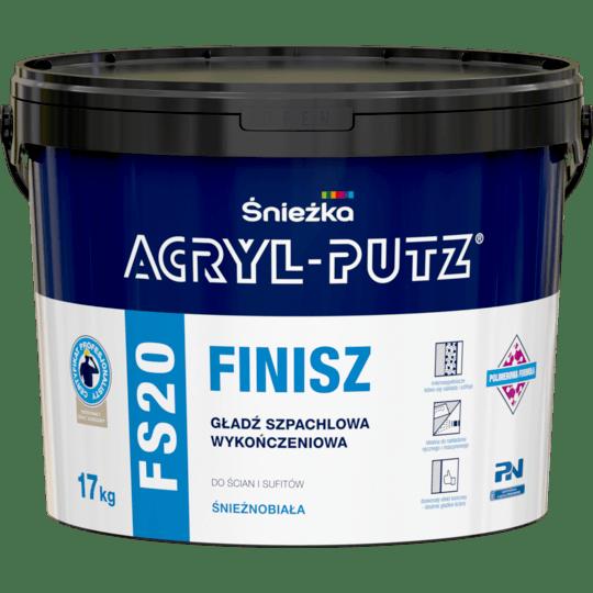 Acryl Putz FS20 Finish white 17 kg