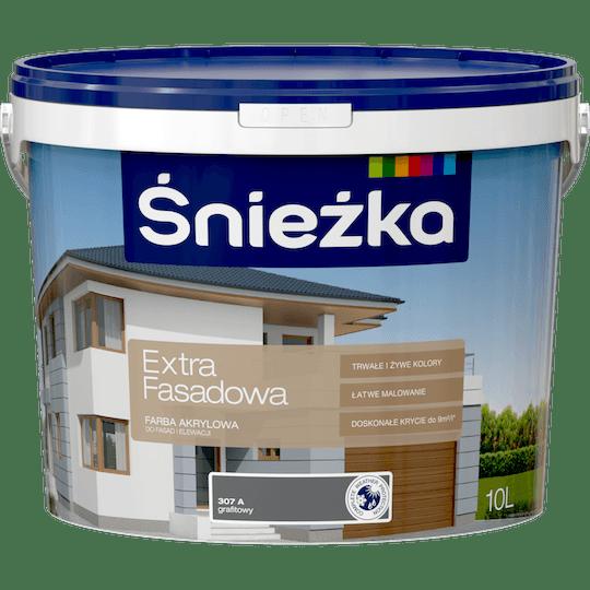 ŚNIEŻKA Extra Fasadowa grafitowy A 10 L