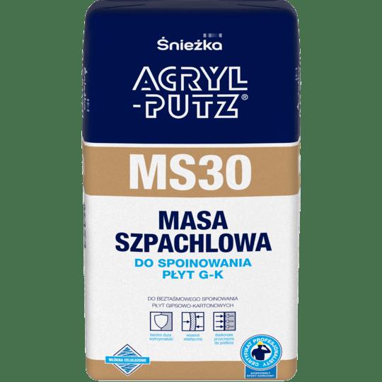 ŚNIEŻKA Acryl-Putz® MS30 Masa Szpachlowa do Spoinowania Płyt G/K biały 20 kg