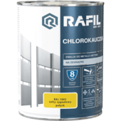 RAFIL Chlorok żółty sygnał RAL1003 0,9L