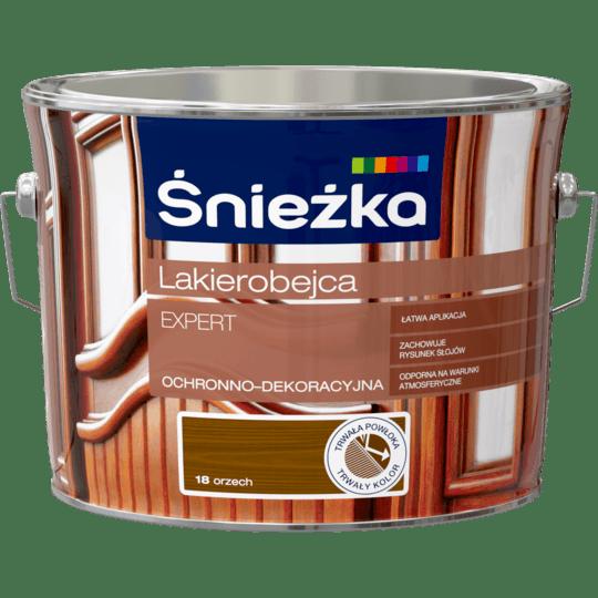 ŚNIEŻKA Lakierobejca Expert Ochronno-Dekoracyjna orzech 2,5 L