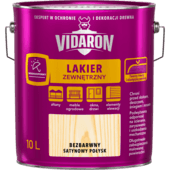 Vidaron Exterior Varnish clear satin gloss